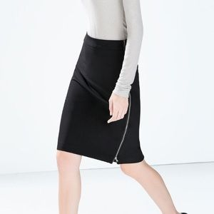 NWOT Zara Pencil Skirt - Small